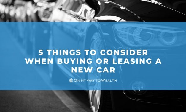 5 Things To Consider When Buying or Leasing a New Car