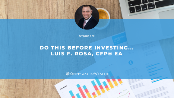 Do This Before Investing…(Blog)