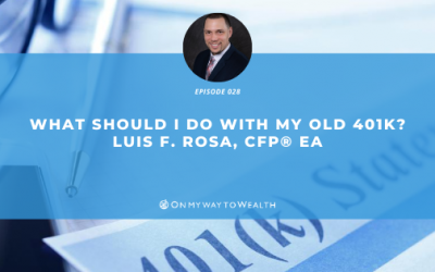 What Should I Do With My Old 401K? (Podcast)