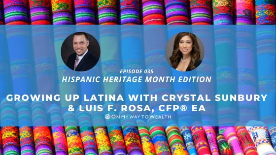 Growing Up Latina With Crystal Sunbury (Podcast)