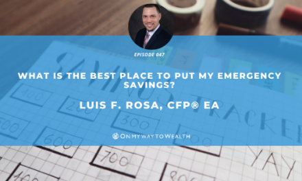 What is the Best Place to Put My Emergency Savings? (Podcast)