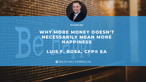 Why More Money Doesn't Necessarily Mean More Happiness